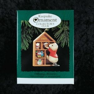 Hallmark Keepsake Ornament Collectors Club NEW